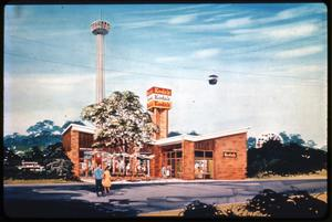 Primary view of object titled 'The Kodak Building at HemisFair '68'.