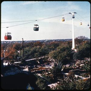Primary view of object titled 'Sky Ride at Brackenridge Park'.