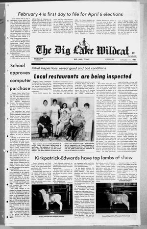 Primary view of object titled 'The Big Lake Wildcat (Big Lake, Tex.), Vol. 60, No. 3, Ed. 1 Thursday, January 17, 1985'.