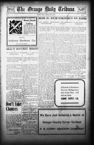 Primary view of object titled 'The Orange Daily Tribune. (Orange, Tex.), Vol. 7, No. 73, Ed. 1 Saturday, April 6, 1907'.