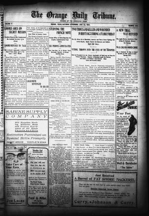 Primary view of object titled 'The Orange Daily Tribune. (Orange, Tex.), Vol. 4, No. 320, Ed. 1 Saturday, June 24, 1905'.