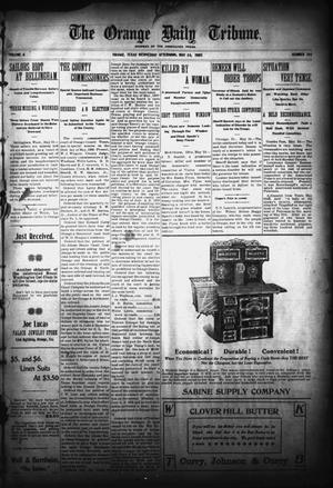 Primary view of object titled 'The Orange Daily Tribune. (Orange, Tex.), Vol. 4, No. 294, Ed. 1 Wednesday, May 24, 1905'.
