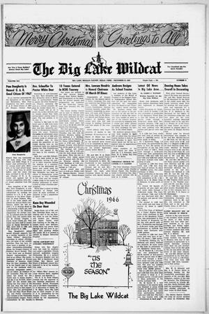 Primary view of object titled 'The Big Lake Wildcat (Big Lake, Tex.), Vol. 41, No. 51, Ed. 1 Thursday, December 22, 1966'.