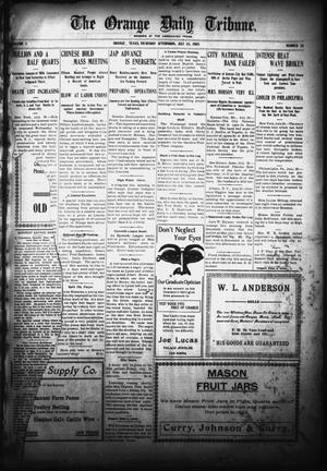 Primary view of object titled 'The Orange Daily Tribune. (Orange, Tex.), Vol. 5, No. 26, Ed. 1 Thursday, July 20, 1905'.