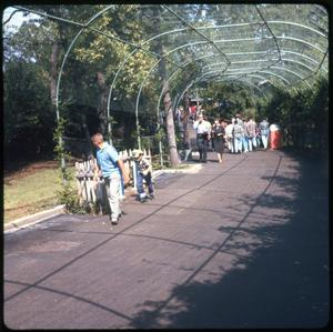 Primary view of object titled 'People at park'.