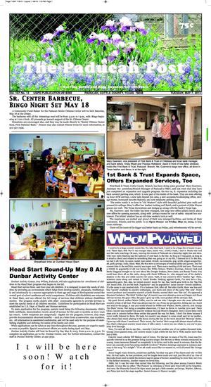 Primary view of The Paducah Post (Paducah, Tex.), Vol. 107, No. 12, Ed. 1 Tuesday, May 7, 2013