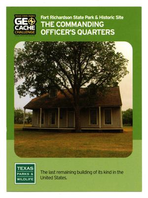 Primary view of object titled '[Trading Card: The Commanding Officer's Quarters]'.