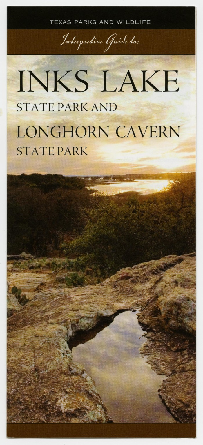 Primary view of object titled 'Interpretive Guide to: Inks Lake and  Longhorn Cavern State