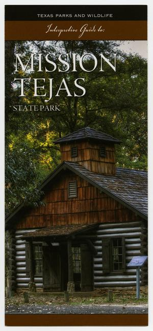 Primary view of object titled 'Interpretive Guide to: Mission Tejas State Park'.
