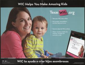 Primary view of object titled 'WIC Helps You Make Amazing Kids'.