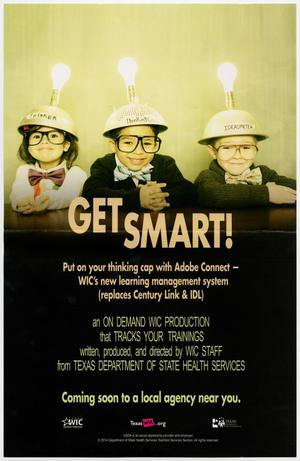 Primary view of object titled 'Get Smart!'.