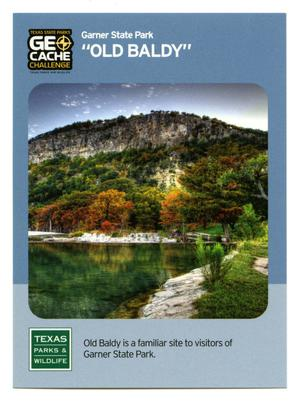 "Primary view of object titled '[Trading Card: ""Old Baldy""]'."
