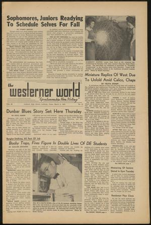 Primary view of object titled 'The Westerner World (Lubbock, Tex.), Vol. 28, No. 13, Ed. 1 Thursday, March 8, 1962'.