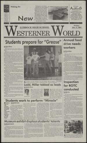 Primary view of object titled 'Westerner World (Lubbock, Tex.), Ed. 1 Friday, December 5, 1997'.