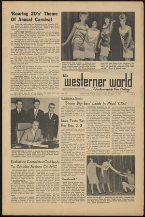 Primary view of object titled 'The Westerner World (Lubbock, Tex.), Vol. 31, No. 9, Ed. 1 Friday, November 13, 1964'.