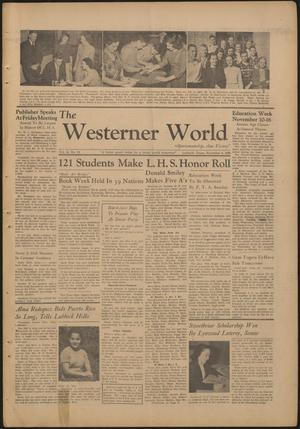 Primary view of object titled 'The Westerner World (Lubbock, Tex.), Vol. 13, No. 10, Ed. 1 Friday, November 8, 1946'.