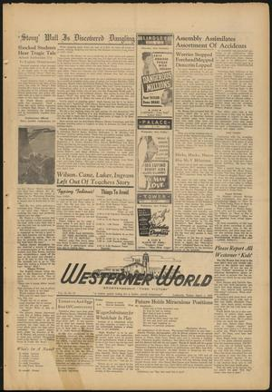 Primary view of object titled 'The Westerner World (Lubbock, Tex.), Vol. 13, No. 27, Ed. 1 Tuesday, April 1, 1947'.