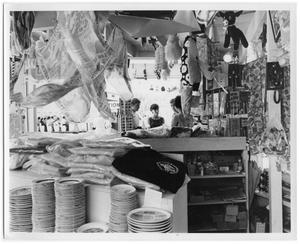 Primary view of object titled 'A gift shop at HemisFair '68'.