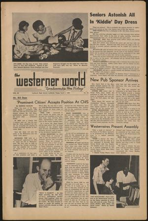 Primary view of object titled 'The Westerner World (Lubbock, Tex.), Vol. 32, No. 23, Ed. 1 Friday, April 1, 1966'.