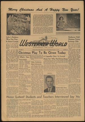 Primary view of object titled 'The Westerner World (Lubbock, Tex.), Vol. 15, No. 13, Ed. 1 Friday, December 17, 1948'.