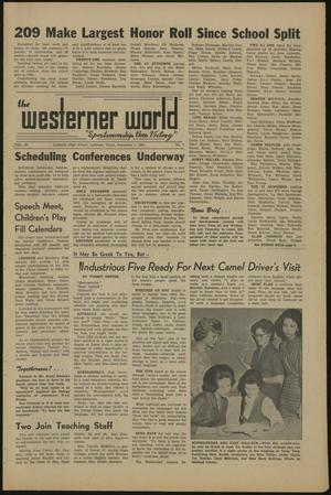 Primary view of object titled 'The Westerner World (Lubbock, Tex.), Vol. 28, No. 7, Ed. 1 Friday, December 1, 1961'.