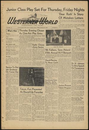 Primary view of object titled 'The Westerner World (Lubbock, Tex.), Vol. 14, No. 22, Ed. 1 Friday, February 27, 1948'.