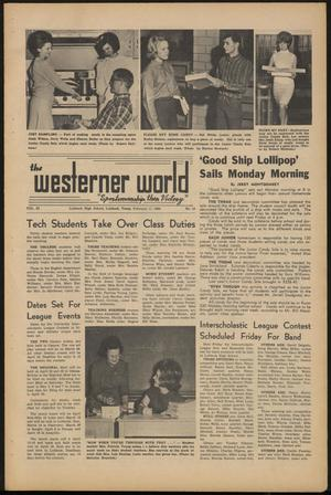Primary view of object titled 'The Westerner World (Lubbock, Tex.), Vol. 32, No. 18, Ed. 1 Friday, February 11, 1966'.