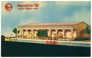 Primary view of object titled 'Pearl Pavilion at HemisFair '68'.