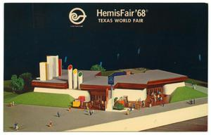 Primary view of object titled 'The Bell System pavilion at HemisFair '68'.