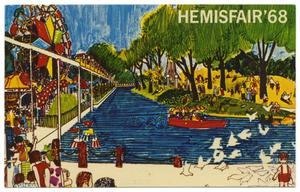 Primary view of object titled 'Fiesta Island, HemisFair '68'.