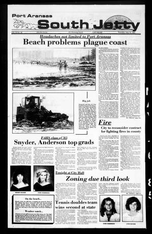 Primary view of object titled 'Port Aransas South Jetty (Port Aransas, Tex.), Vol. 15, No. 20, Ed. 1 Thursday, May 16, 1985'.