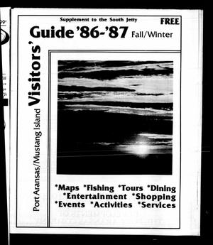 Primary view of object titled 'Visitors' Guide '86-'87 Fall/Winter (Port Aransas, Tex.)'.