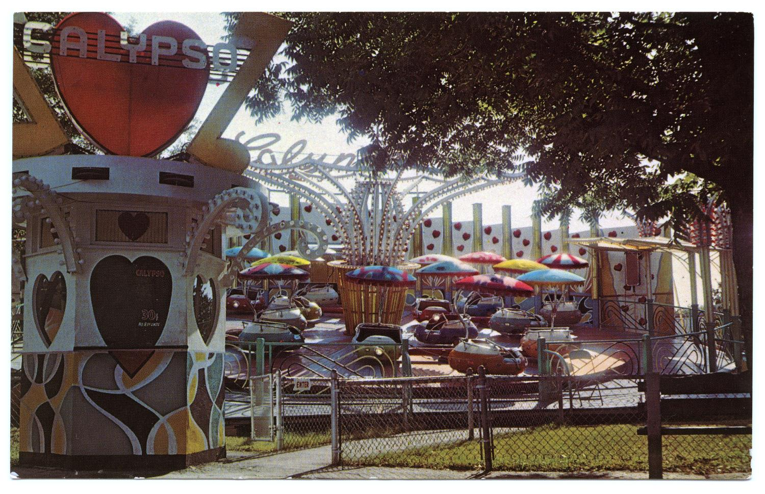 The Calypso, HemisFair's amusement park ride                                                                                                      [Sequence #]: 1 of 2