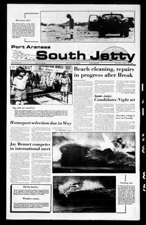 Primary view of object titled 'Port Aransas South Jetty (Port Aransas, Tex.), Vol. 15, No. 13, Ed. 1 Thursday, March 28, 1985'.