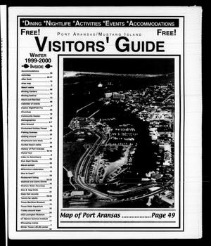 Primary view of object titled 'Visitors' Guide Winter 1999-2000 (Port Aransas, Tex.)'.