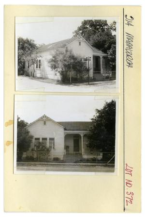 Primary view of object titled '214 Matagorda Lot No. 372-single family dwelling'.