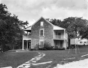 "Primary view of object titled '[King House (""Historical House""), (Southwest oblique)]'."