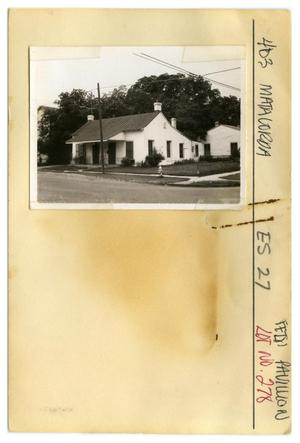 Primary view of object titled '403 Matagorda Lot No. 278-single family dwelling with design'.