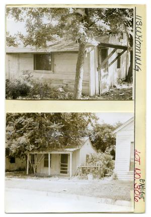 Primary view of object titled '113 Wyoming Lot No. 306-single family dwelling'.