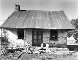 Primary view of object titled '[John Moczygemba House, (South elevation)]'.