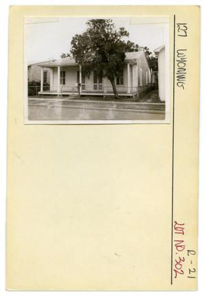 Primary view of object titled '127 Wyoming Lot No. 302-single family dwelling'.