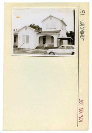 Primary view of object titled '131 Wyoming Lot No. 301-single family dwelling'.