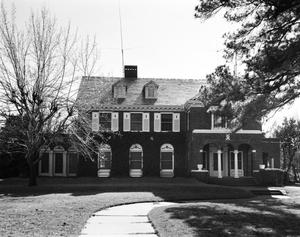 Primary view of object titled '[Will Griffith House, (Northeast elevation)]'.
