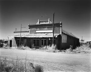 Primary view of object titled '[Johnson's Grocery]'.