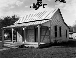 Primary view of object titled '[Otto Brinkman House / Store, (Southwest oblique)]'.