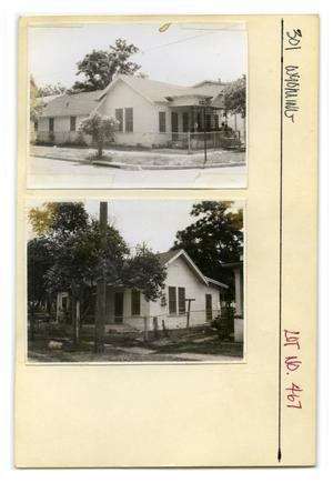 Primary view of object titled '301 Wyoming Lot No. 467-single family dwelling'.