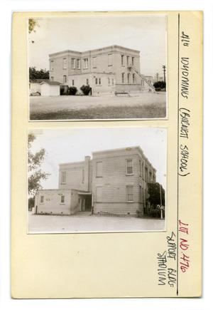 Primary view of object titled '410 Wyoming Lot No. 476-Burnett School'.