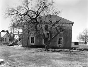 Primary view of object titled '[Old Karnes County Courthouse]'.