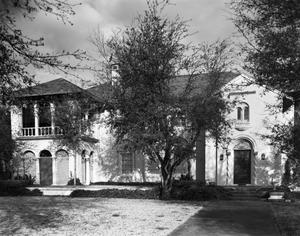 Primary view of object titled '[Matthew C. Roberts II House, (South elevation)]'.