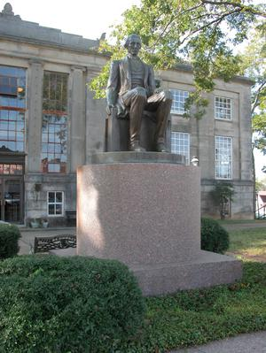 Primary view of object titled 'James Pinckney Henderson Monument, San Augustine'.